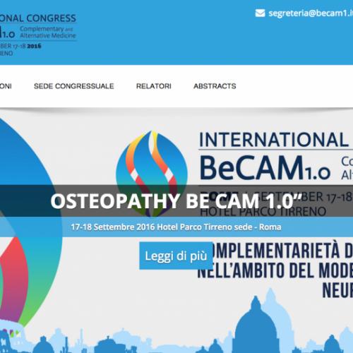 Sito Web Congresso BeCam1